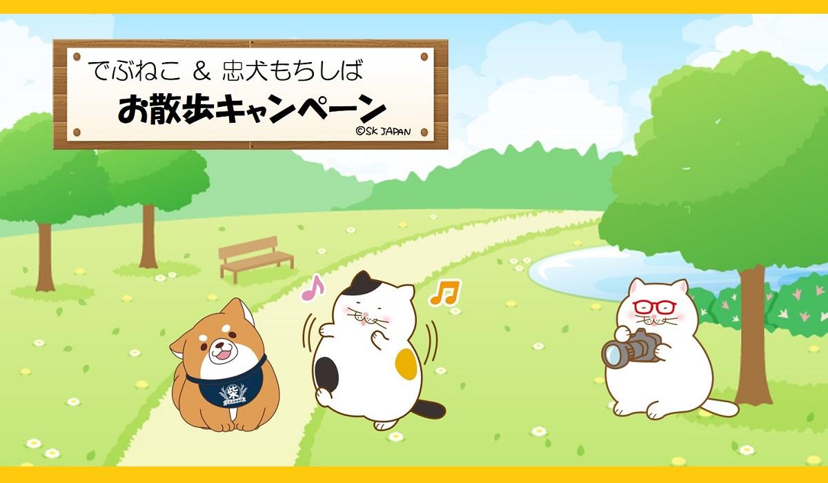 お散歩キャンペーン<br />【SNSキャンペーン】