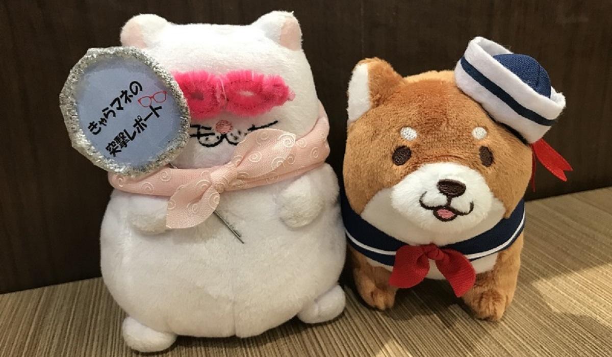 きゃらマネ突撃レポート<br />マリンスタイル マスコット編