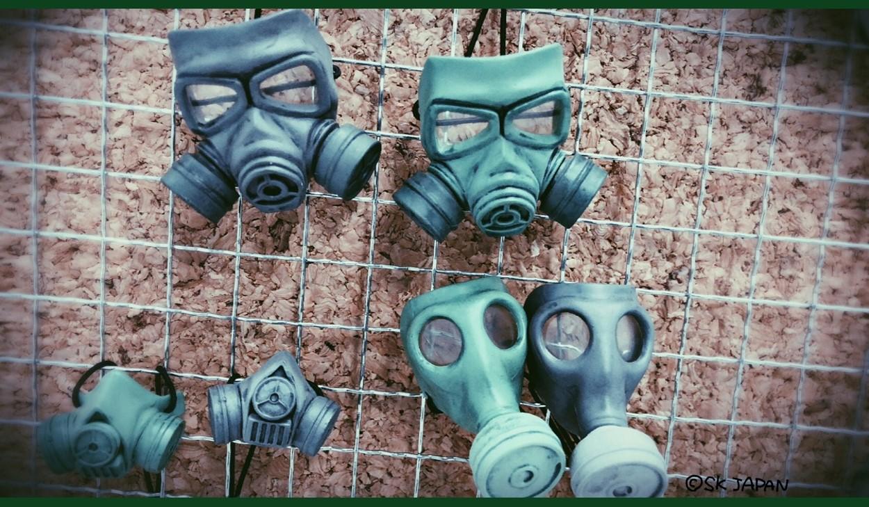 ガスマスク コレクション<br />【カプセル商品】